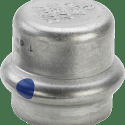 Køb Viega Sanpress Inox LF slutmuffe 15 mm | 980418494