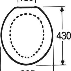 Køb Gustavsberg propensæde med låg hvid (315) | 614561000