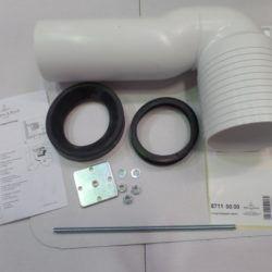 Køb V&B 8711 vario afløbsbøjning 70-170 mm | 617859070