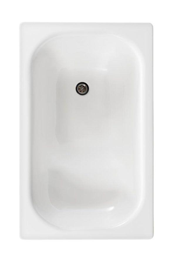 Køb Gustavsberg badekar 1051 uden benstativ hvid   666541000