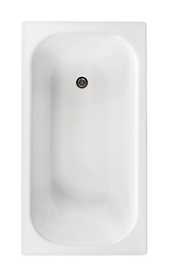 Køb Gustavsberg badekar 1300 uden benstativ hvid | 666543000