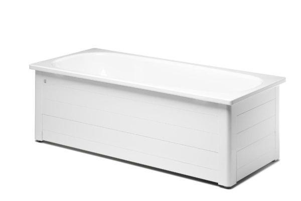 Køb Gustavsberg badekar 1600 uden benstativ hvid | 666547000