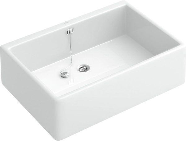 Køb V&B O Novo 6321 rengøringsvask hvid | 691061100