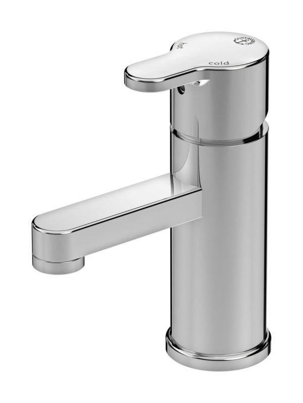Køb Gustavsberg Nordic3 håndvaskarmatur med løft-op bundventil | 702038104