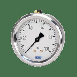 Køb Wika manometer tp 213.53 Ø63 G1/4B 0-6 BAR-BAGUD GLYCERINFYLDT | 481201662