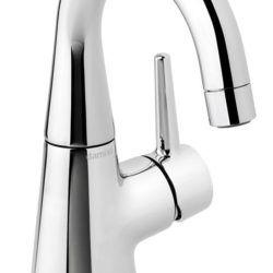 Køb Damixa Bell håndvaskarmatur høj tud uden bundventil | 701433804