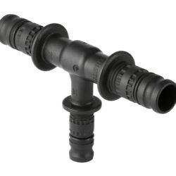 Køb Geberit Mepla T-stykke reduceret d=75 mm d1=50 mm d2=75 mm | 087506673