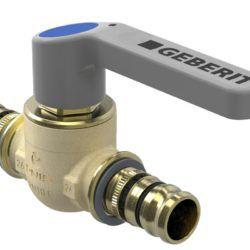 Køb Geberit Mepla kugleventil med betjeningshåndtag d=20 mm | 087546620