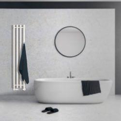 Køb Kriss Vega håndklæderadiator 1420 x 257 mm hvid | 331037340