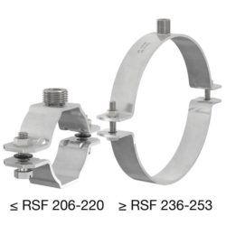 Køb Flamco RSF rørbøjle G1/2-M10 x 85-91 | 018570265