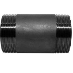 Køb Nippelrør sort 120 mm X 1/4 | 012120102