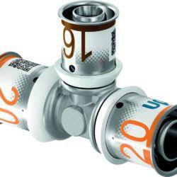 Køb Uponor S-Press PLUS prestee 20 x 20 x 16 mm | 045476242