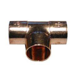 Køb Viega T-stykke 35 mm kobber | 042130035