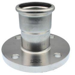 Køb VSH overgangsflange 15 mm syrefast | 034687015